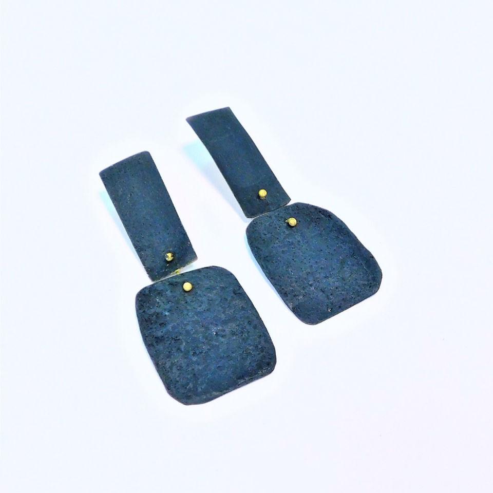 Dora-Charalambaki-earrings-e1028-turquoise-blue