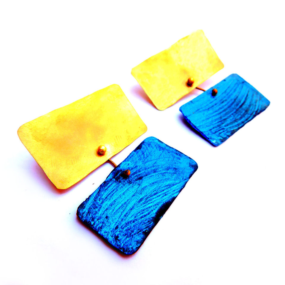 dora-haralambaki-esilence7-gold-blue