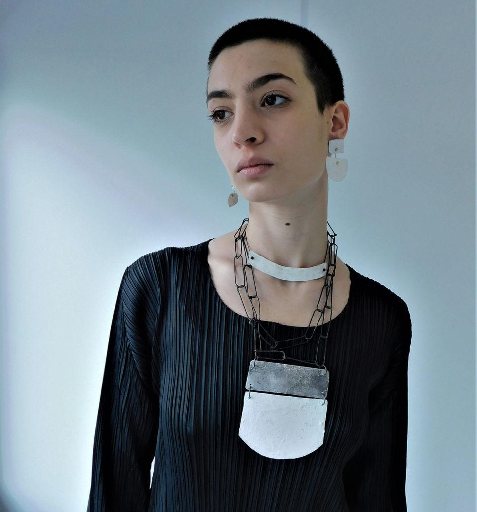 Dora-Charalambaki-necklace-n2013-grey-white